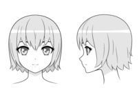 How to Draw an Anime Girl's Head and Face