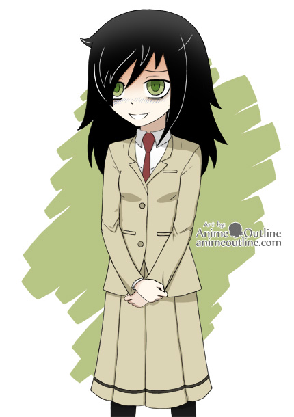 It's Not My Fault I'm Not Popular - Tomoko