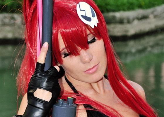 Yoko Littner cosplay