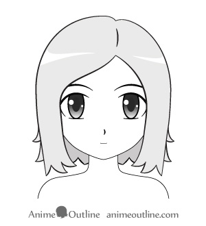 anime female short hair