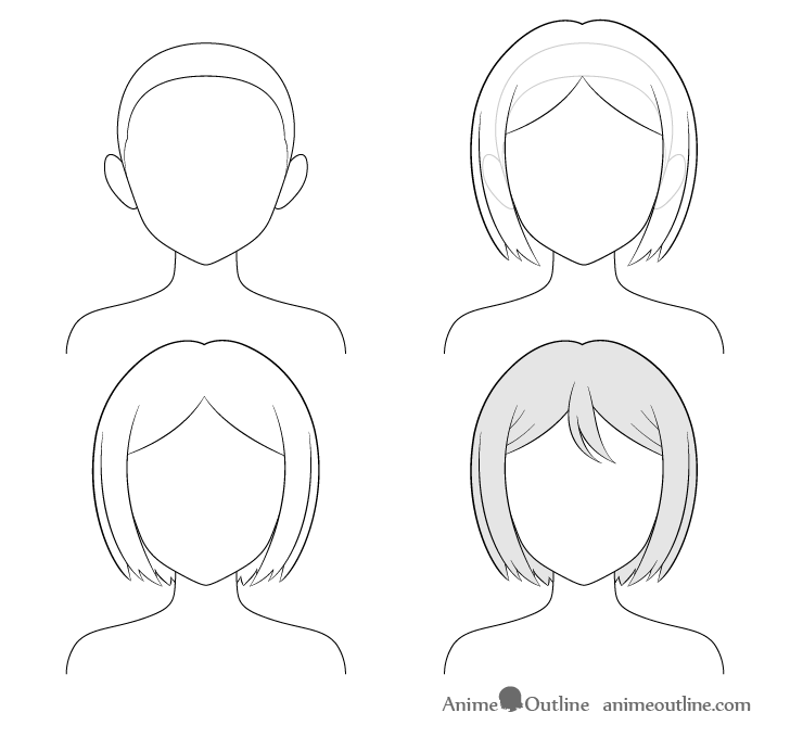 How To Draw Anime And Manga Hair
