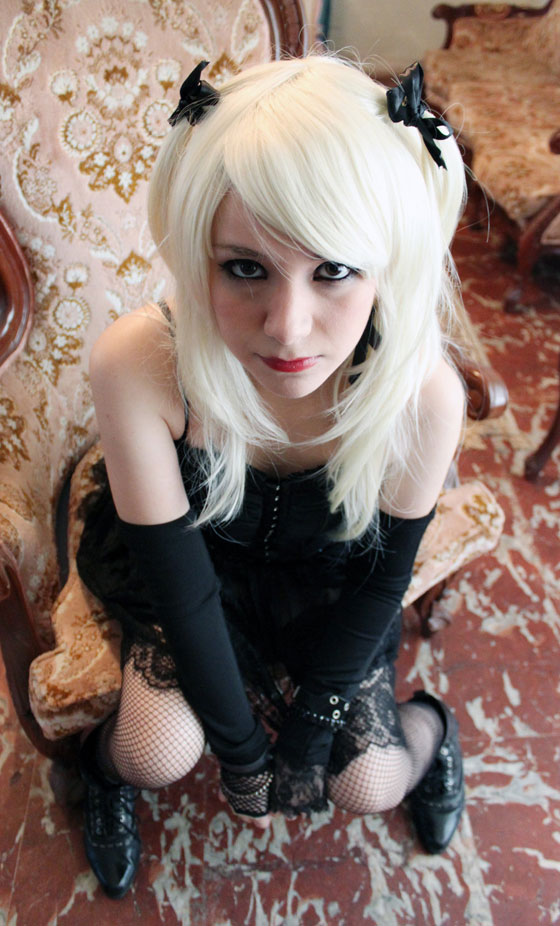 cosplay of Misa Amane from Death Note