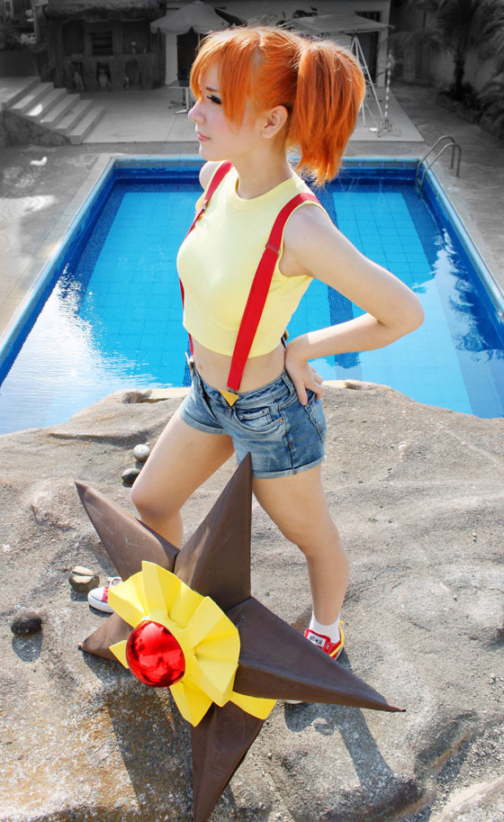 cosplay of Misty from Pokemon