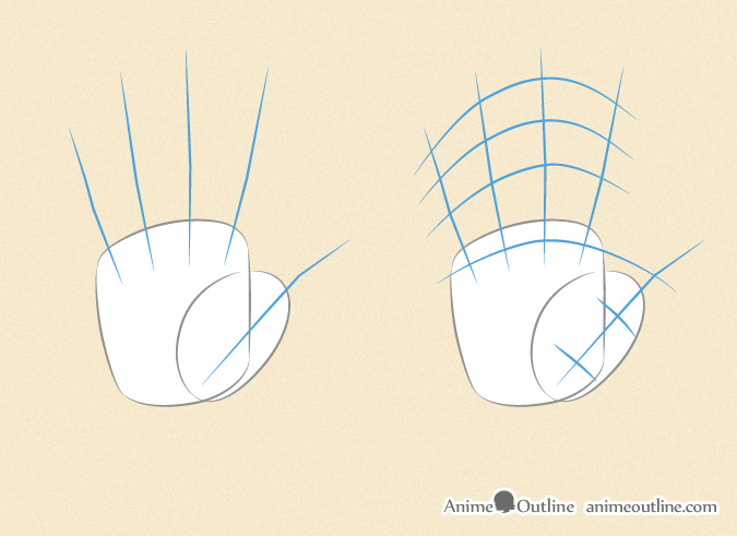 How To Draw Manga Hands Step By Step