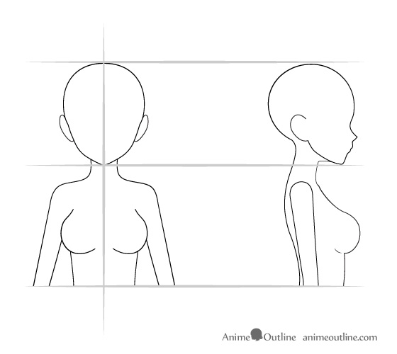 Anime proportions