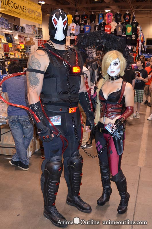 Bane and Harley Quinn Cosplay