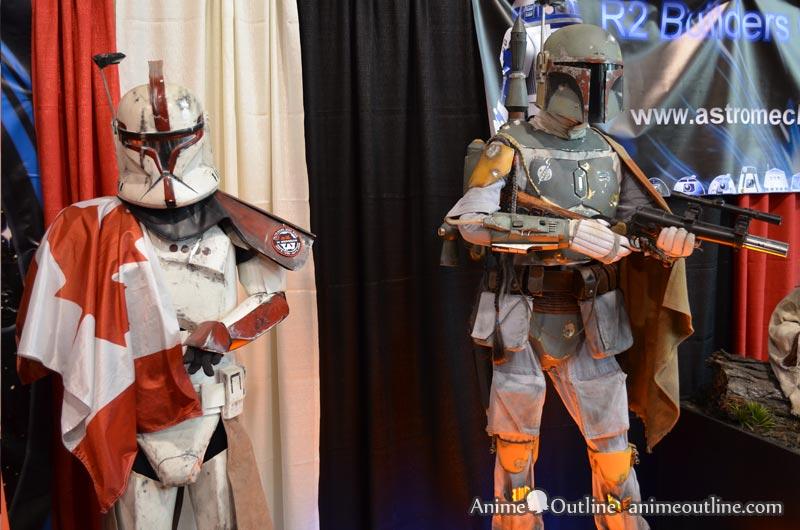 Boba Fett and Clone Trooper Armor
