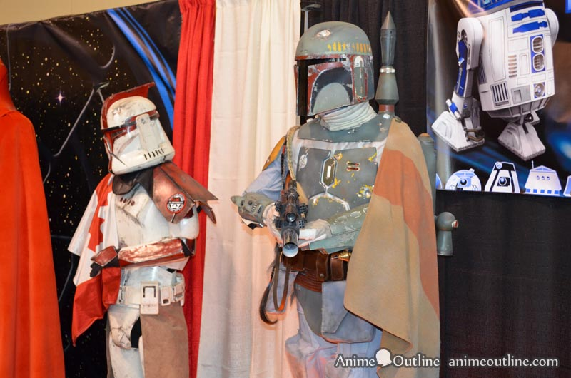 Boba Fett and Clone Trooper Armor Side