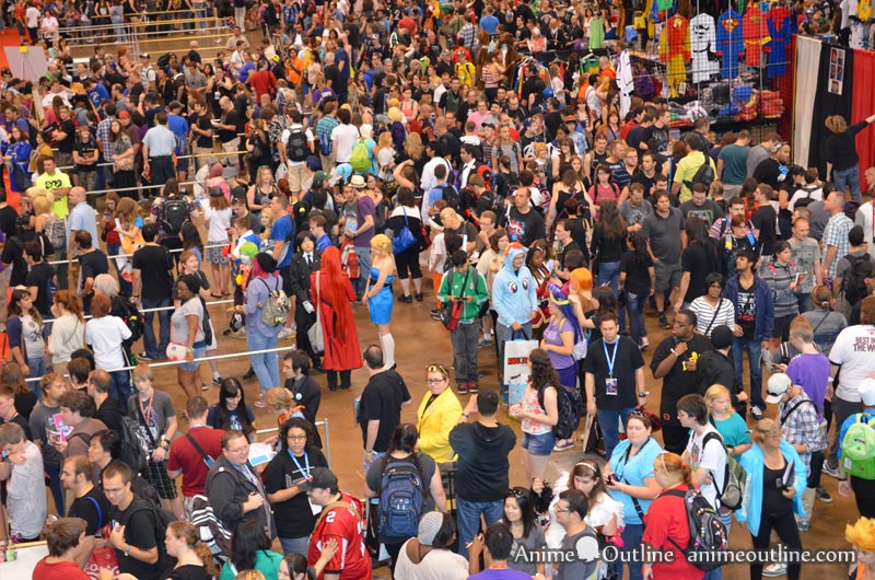 Crowd Fan Expo 2013