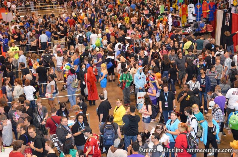 Crowd Fan Expo 2013