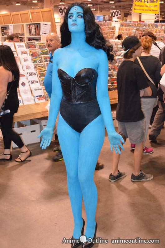 Doctor Manhattan Girl Cosplay