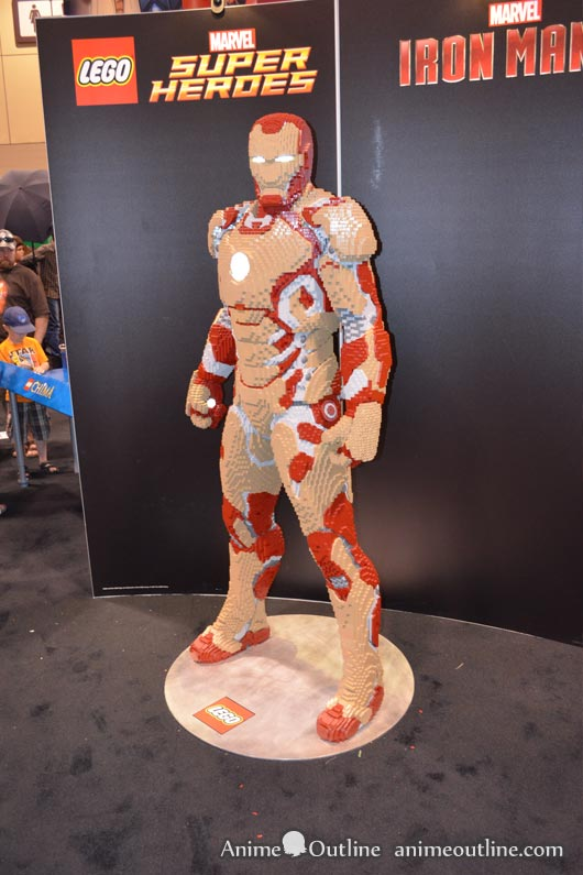 Lego Ironman Actual Size