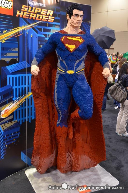 Lego Superman Actual Size