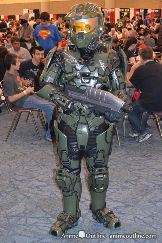 Master Chief Cosplay Front