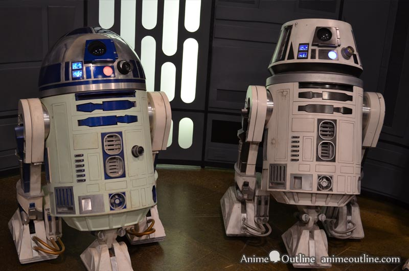 R2D2 and R2 Droid