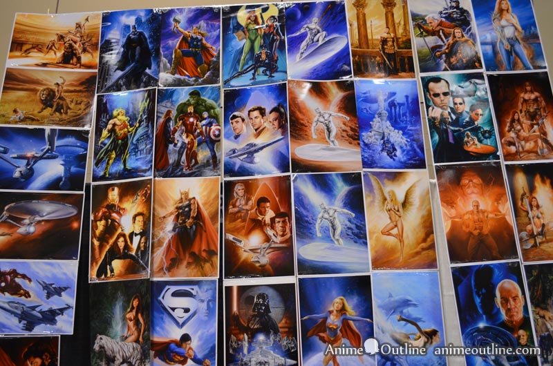 Superhero and Movie Art