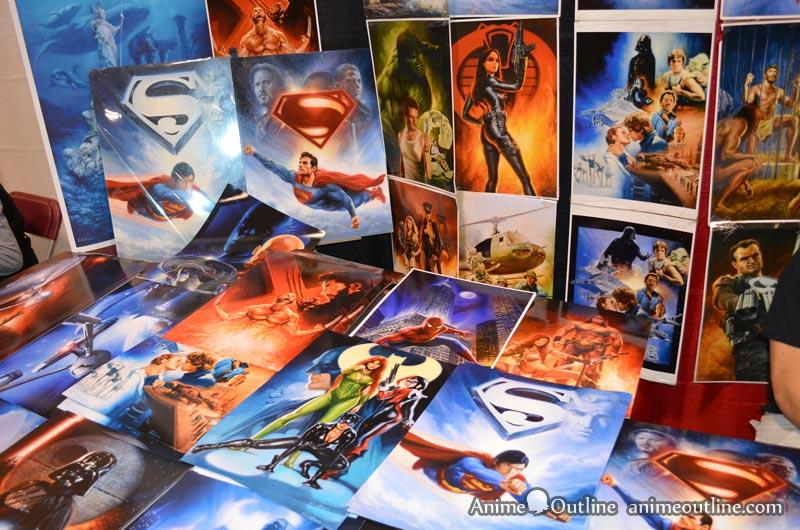 Superhero and Supervillain Art