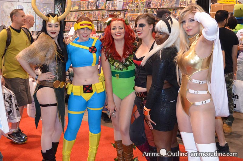 Superhero Girls Cosplay