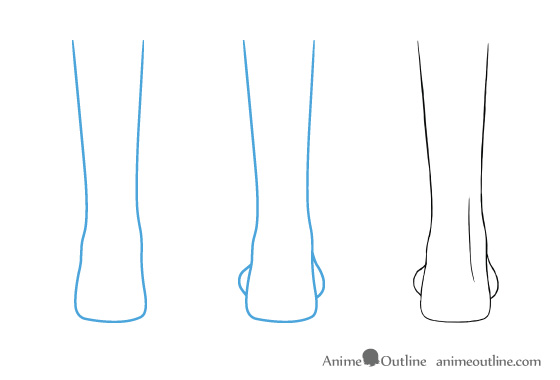 How To Draw Anime And Manga Feet From Different Views Animeoutline