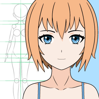 Anime girl drawing tutorial