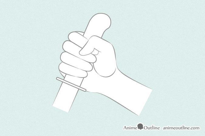 6 Ways To Draw Anime Hands Holding Something Animeoutline