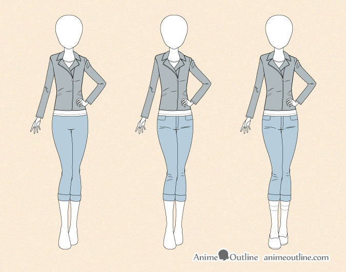 Drawing Female Fashion Clothes