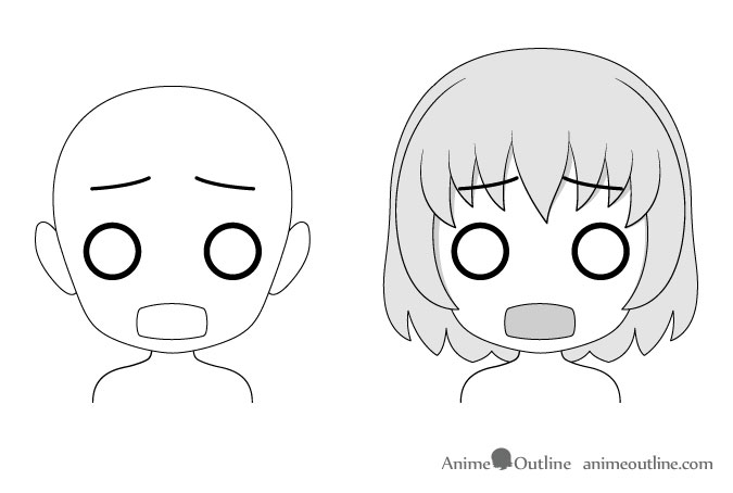 This drawing anime facial expressions good Wieso