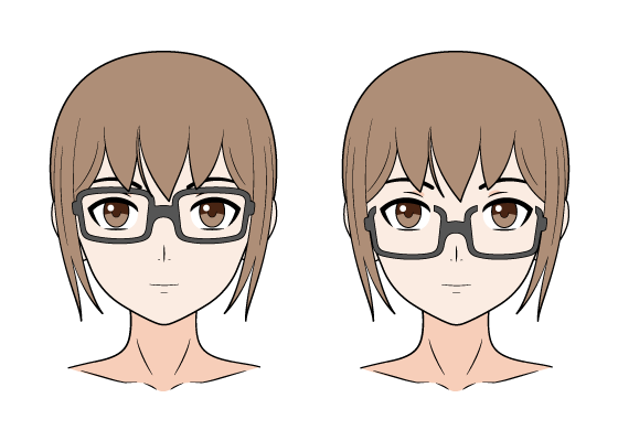 Anime glasses
