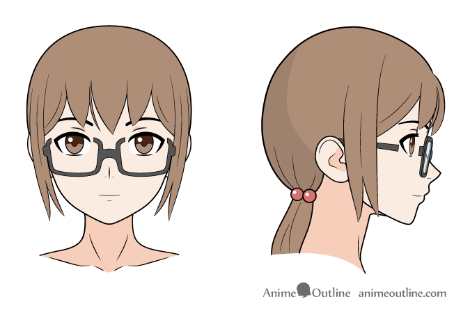 Anime Glasses Effect