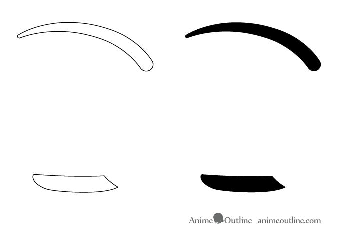 How To Draw Anime Manga Eyes Side View Animeoutline