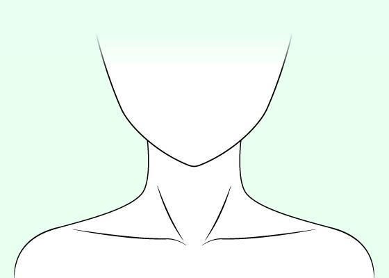Anime neck