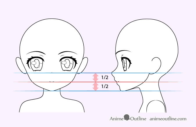 how to draw cute anime girl step by step