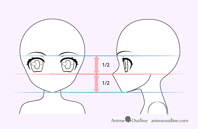 How To Draw A Cute Anime Girl Step By Step Animeoutline