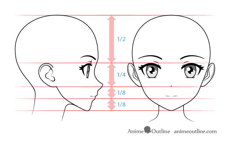 How to Draw Anime Kissing Lips & Face Tutorial - AnimeOutline
