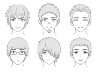 How to Draw Male Anime Characters Step by Step