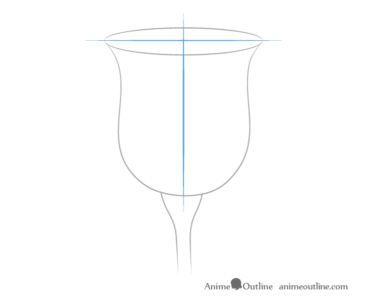 Rose construction drawing