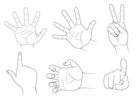 How to Draw Hand Poses Step by Step