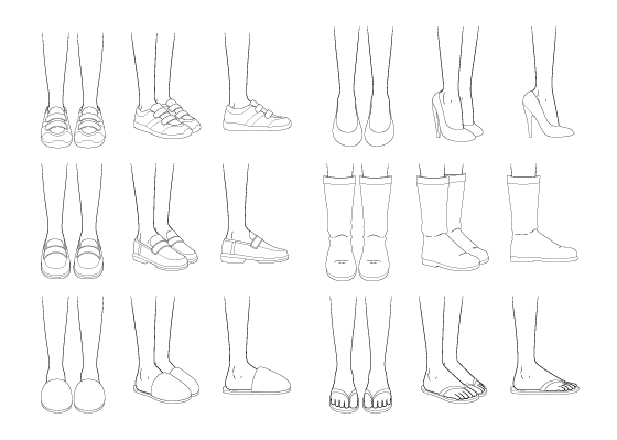 How To Draw Anime Shoes Step By Step Animeoutline