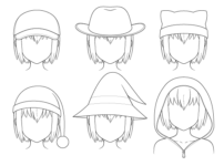 How to Draw Anime Hats & Head Ware