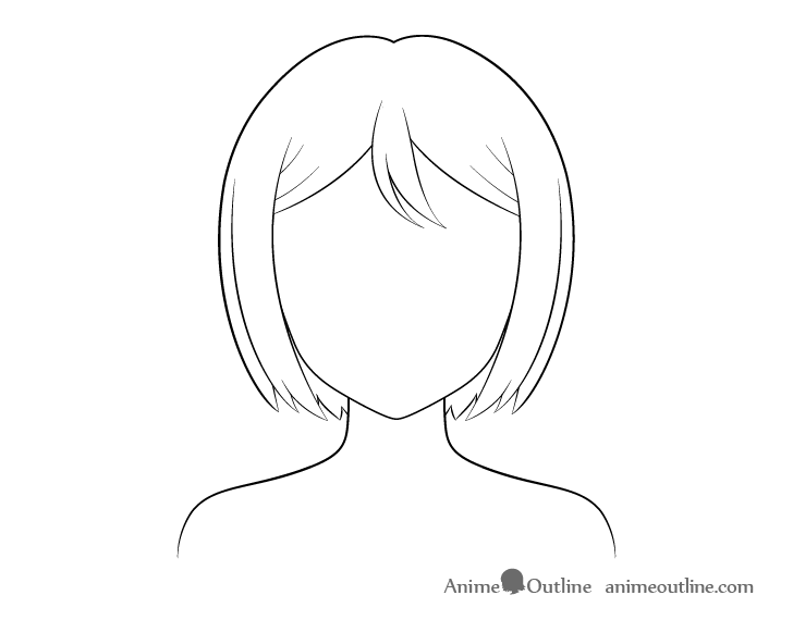 Anime combed line drawing