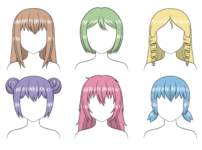 How to Shade Anime Hair Step by Step