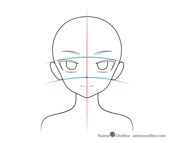 Anime vampire girl ears drawing