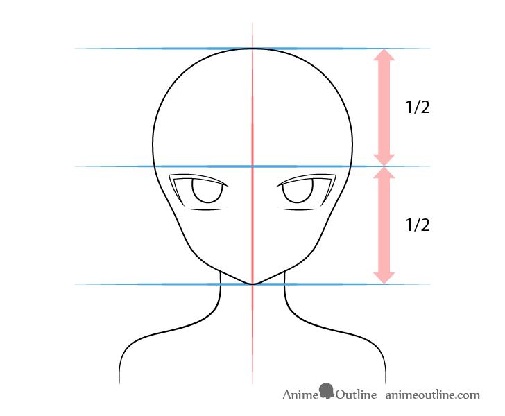Anime vampire girl eyes drawing