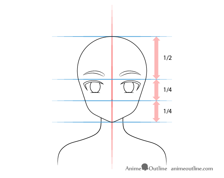 Anime fox girl nose drawing