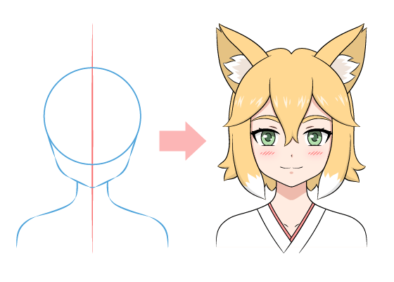 Anime fox girl